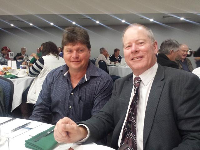 IMAGE Newly awarded ALRTA Life Members Mark Sullivan and David Smith