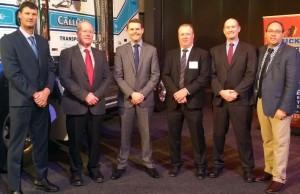 SA Conference Scott Quinn, David Smith, Minister Stephen Mullighan, Grant robins, Mathew Munro, Sal Petrocitto